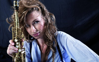 Entdeckt: Nicole Johänntgen – Saxophon!
