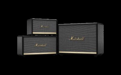 Marshall modernisiert sein Angebot an Bluetooth®-Lautsprechern