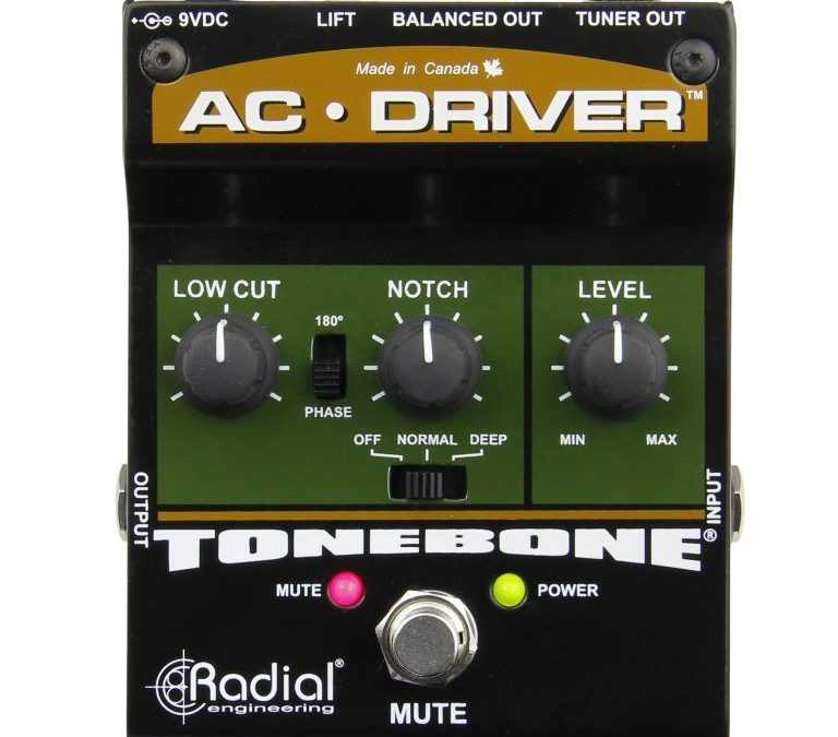 Tonebone AC Driver – Acoustic Instrument Preamp & D.I.-Box