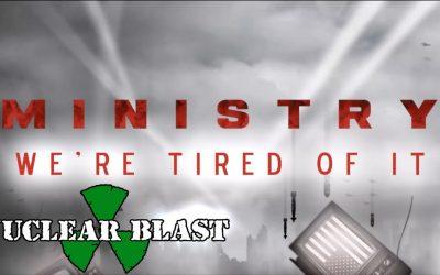 MINISTRY präsentieren Visualizer zu 'We're Tired Of It' und starten US-Tour