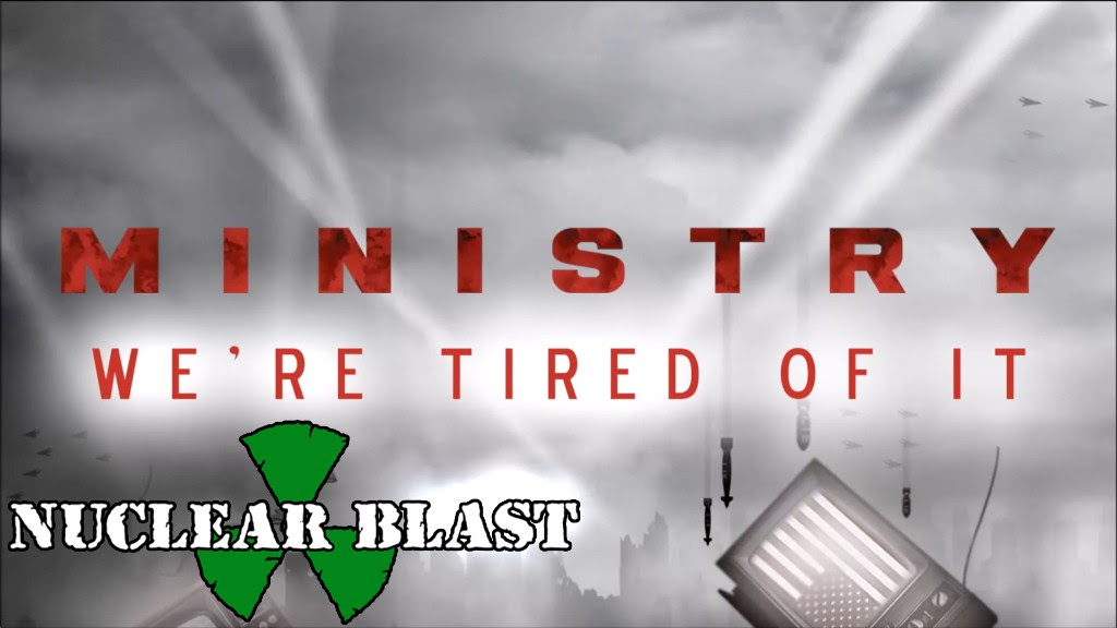 MINISTRY präsentieren Visualizer zu 'We're Tired Of It' und starten US-Tour