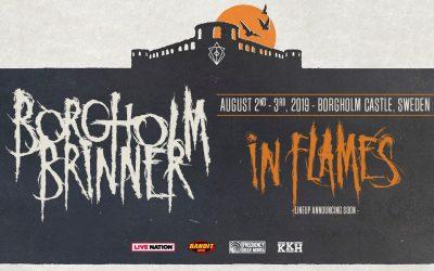 IN FLAMES – zweite Ausgabe des Borgholm Brinner Festivals, Teaser zu neuen Songs