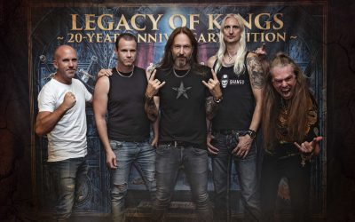 "HAMMERFALL – ""Legacy Of Kings – 20 Year Anniversary Edition"" + neue Trailer"