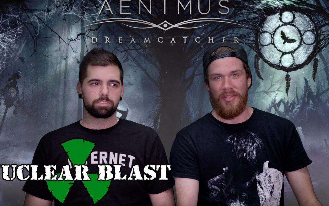 AENIMUS sprechen über ihren Plattenvertrag mit Nuclear Blast