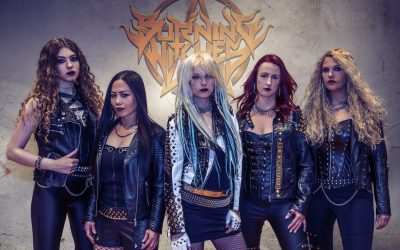 "BURNING WITCHES – Re-release von ""Burning Witches/ Burning Alive"""