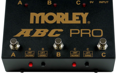 Morley neue Switch-Boxen ABC Pro & ABY Pro