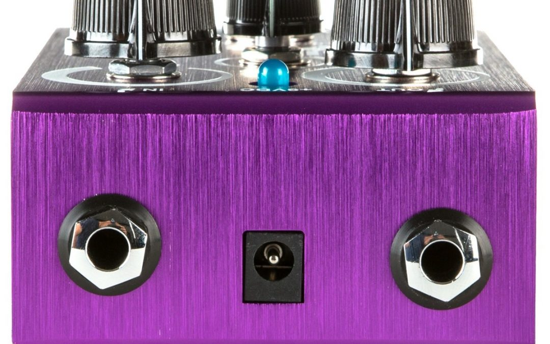 Way Huge Purple Platypus Octidrive MkII & Smalls Supa-Lead Overdrive MkII