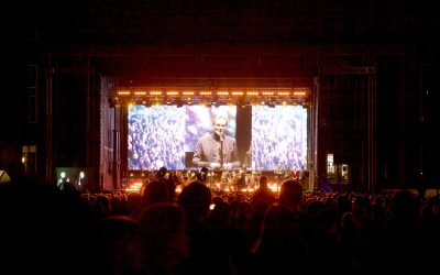 Alcons Audio LR28 beschallt das Lichtfest in Leipzig