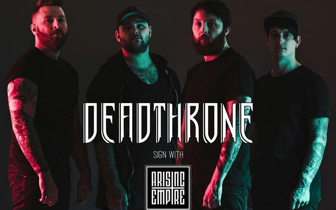 DEADTHRONE unterzeichnen Vertrag mit Arising Empire & veröffentlichen brandneue Single 'FEEL'