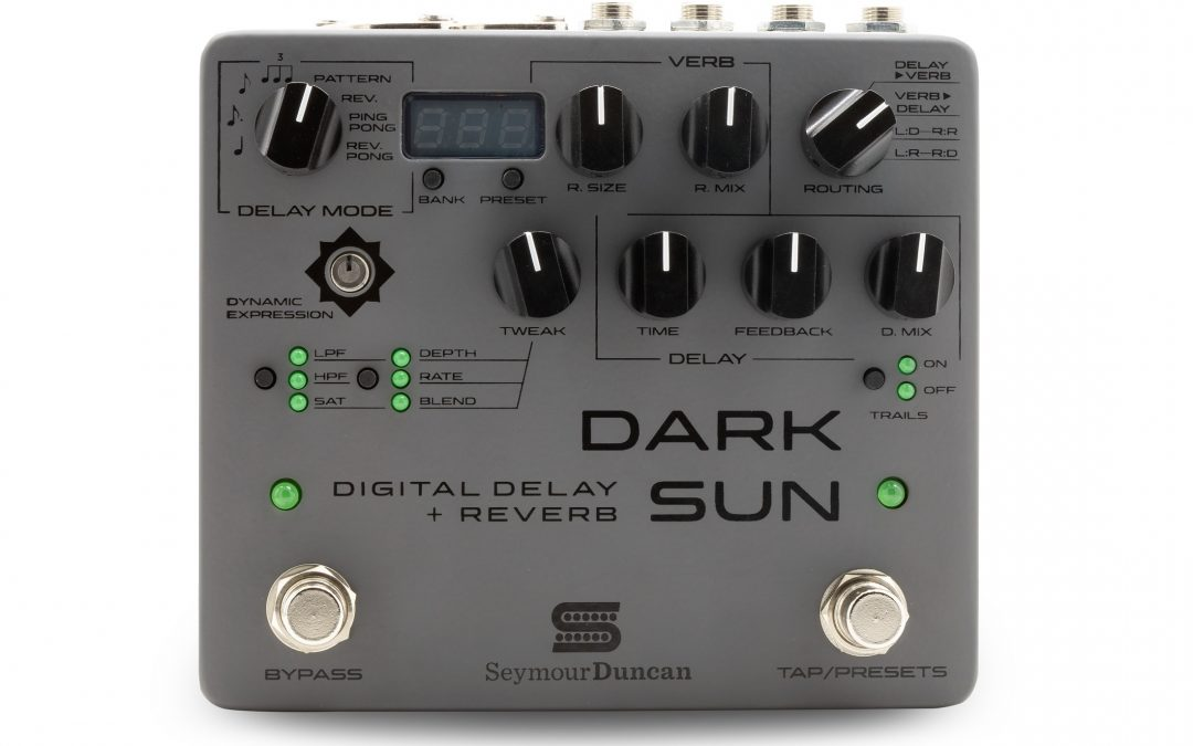 Seymour Duncan Dark Sun Digital Delay + Reverb