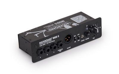RockBoard® MOD 5 Modul mit IR-based Stereo CAB SIM + Active DI