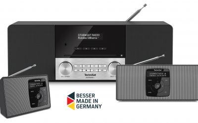 Neue DAB+ Radios von TechniSat