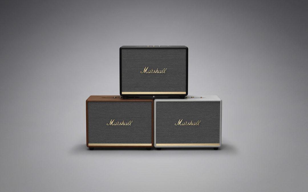 Neue Bluetooth Lautsprecher bei Marshall