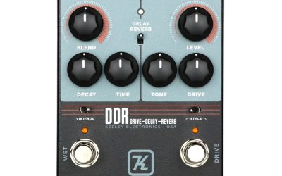 Keeley DDR Drive-Delay-Reverb
