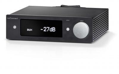 nuConnect ampX – Audiophiler Allround-Verstärker mit Drahtlos-Stärken