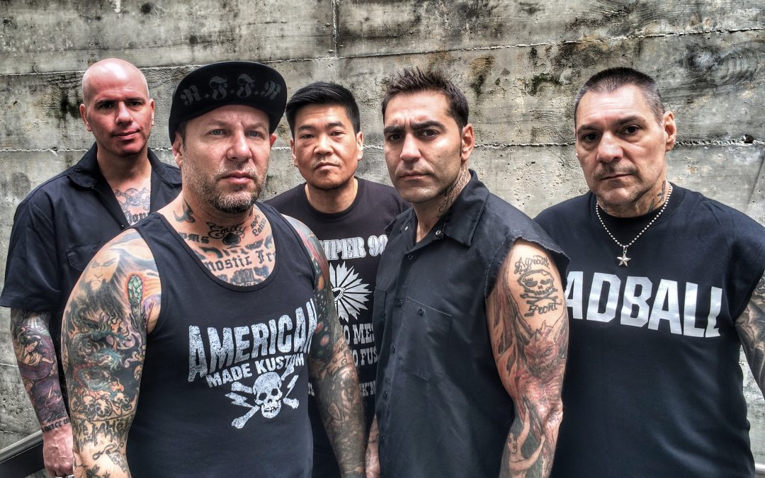 AGNOSTIC FRONT im Sommer in Europa