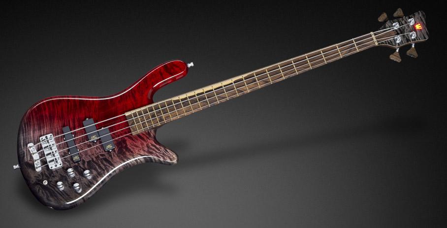 Streamer LX – Wild Flamed Maple – Nirvana Red Burst