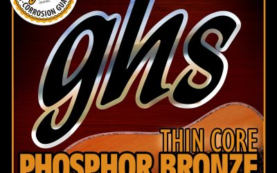GHS Thin Core Phosphor Bronze Acoustic Strings