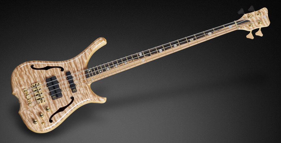 Warwick Infinity NT – Flamed Maple Top – Dual Colored Fretboard