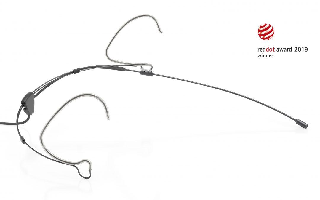 Das neue Subminiatur-Kopfbügelmikrofon d:fine™ CORE 6066 von DPA wurde mit dem Red Dot Award ausgezeichnet