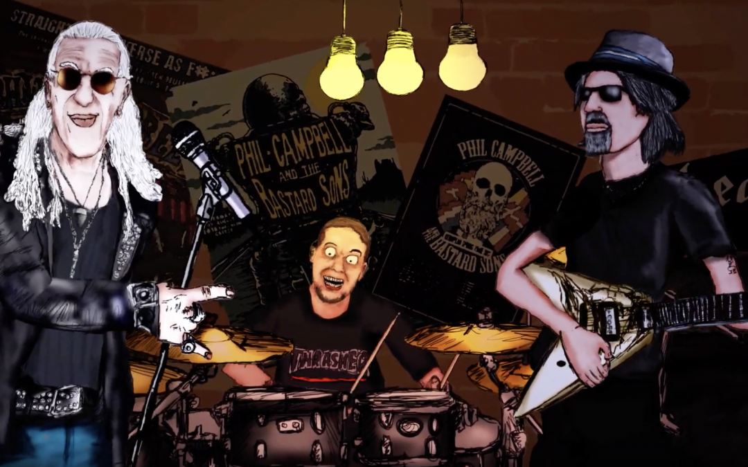 PHIL CAMPBELL AND THE BASTARD SONS veröffentlicht erste Single 'These Old Boots' feat. Dee Snider, Mick Mars & Chris Fehn