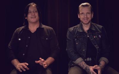 BLACK STAR RIDERS – Robert und Ricky verraten im vierten Album-Trailer, warum sie das neue Album in den Sphere Studios aufgenommen haben