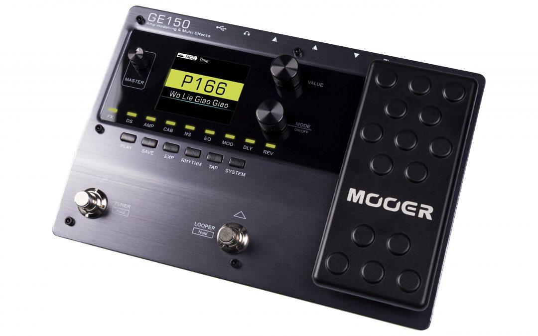 Mooer GE150 Amp Modeler und Multi Effects