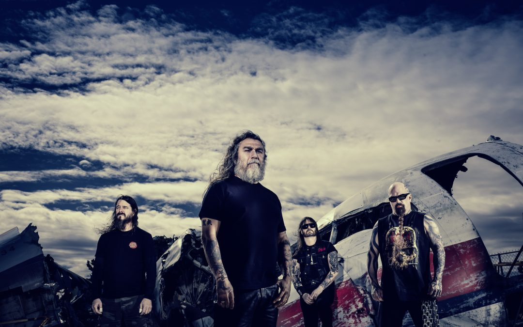 SLAYER enthüllen Showopener 'Repentless' von kommendem Blu-ray/Digitalfilm/LP/CD-Paket »Slayer: The Repentless Killogy«