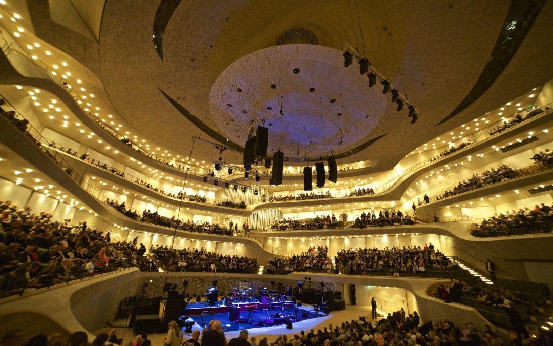 Bryan Ferry live mit Alcons Audio in der Elbphilharmonie