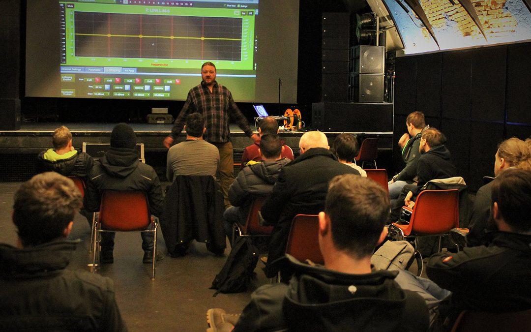 """Meyer Sound bietet im November ein """"System Design & Optimization"""" Training an"""