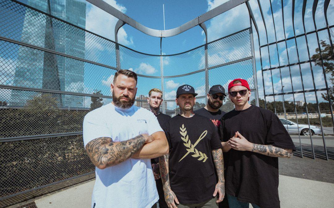 LIONHEART veröffentlichen neue Single 'Rock Bottom' feat. Jesse Barnett vom kommenden Album »Valley Of Death«