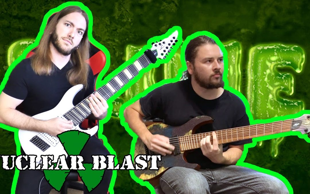 RINGS OF SATURN präsentieren Gitarrenplaythrough zu 'Pustules', »Gidim« erschienen