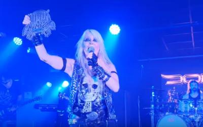 """DORO gewinnt """"Angel Of Rock""""-Award in England"""