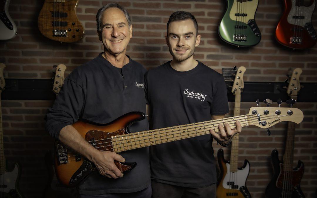 Vorstellung der neuen Sadowsky Bass Serien auf der NAMM Show 2020