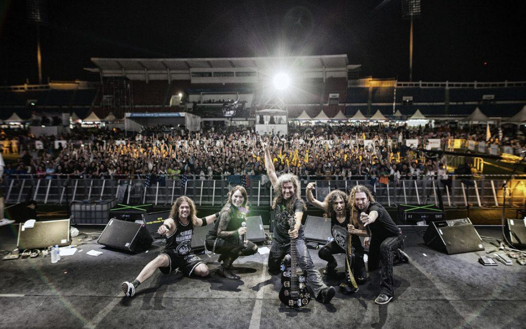 """ALMANAC enthüllen zweiten Albumtrailer über das Songwriting und die Aufnahmen von """"Rush Of Death"""""""