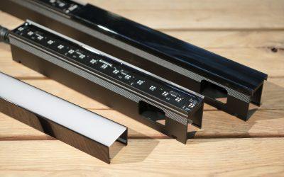SGM erweitert seine VPL-Serie mit schwarzen LED-Strips und weiterem Zubehör