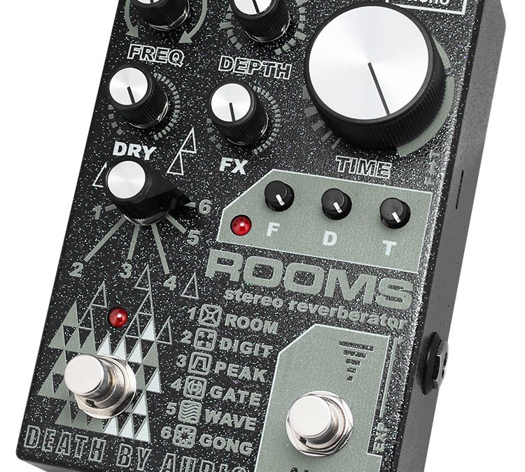 Death By Audio Rooms – Stereo Reverberator