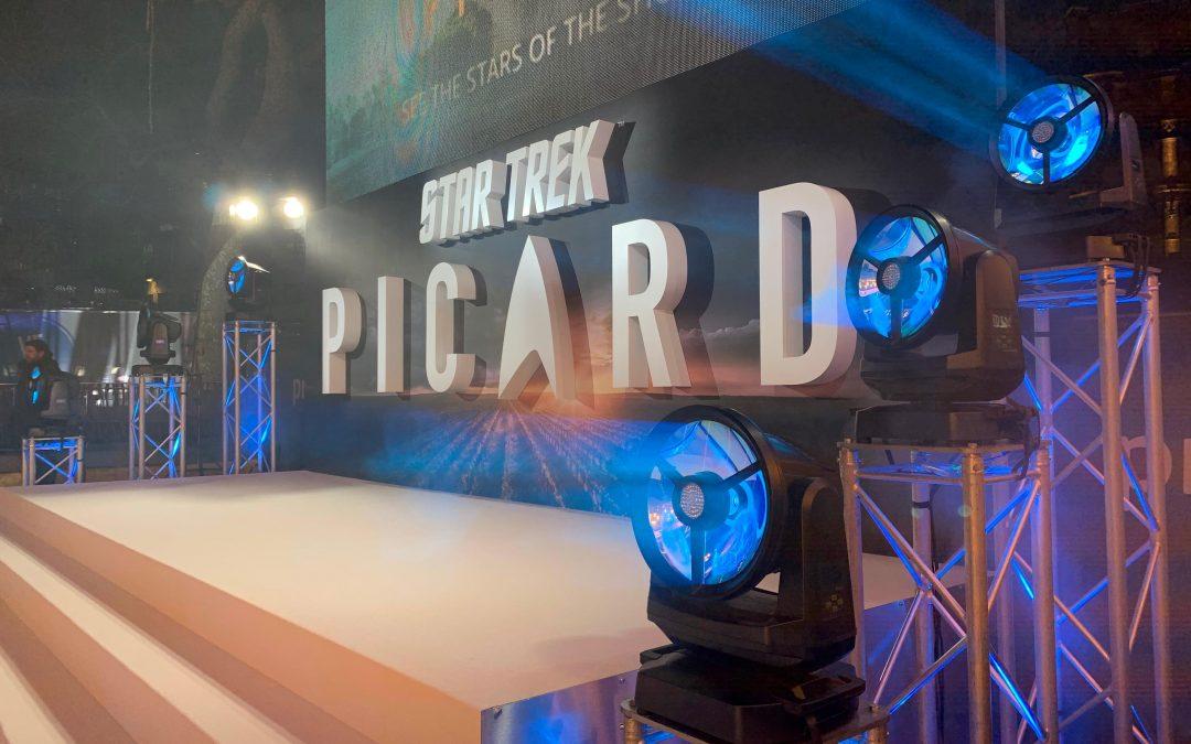 Premiere mit G-7 BeaSt bei Star-Trek in London