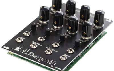 EarthQuaker Devices Afterneath Eurorack Reverberator