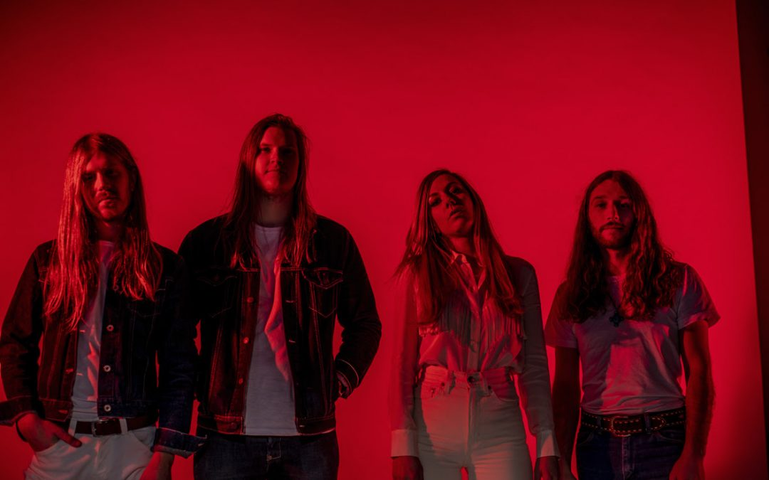BLUES PILLS enthüllen Cover Artwork ihres neuen Albums »Holy Moly!«