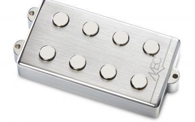 MEC Bass Pickups mit gebürsteten Metallgehäusen nun lieferbar