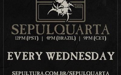 SEPULTURA starten SEPULQUARTA Sessions