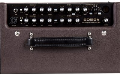 Mooer SD50A – Acoustic Guitar Combo, 8″ / 50 Watt
