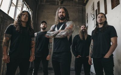 AS I LAY DYING  veröffentlichen Musik Video 'Torn Between'