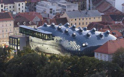 Bill Fontana Primal Energies Ausstellung in Graz – dynamischer Raumklang mit Spacemap Go von Meyer Sound