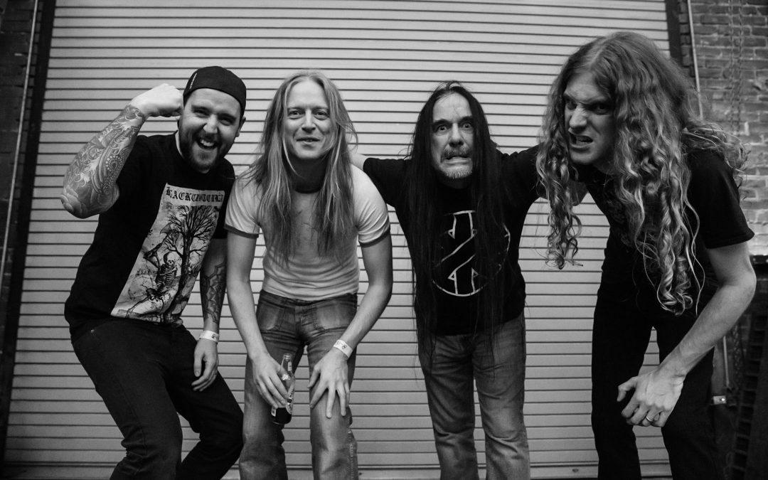 "CARCASS – Visualizer für den neuen  Song, ""THE LIVING DEAD AT THE MANCHESTER MORGUE,"" & more"