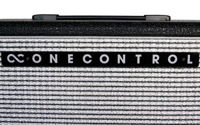 "One Control BJF-S66 – Compact Guitar Amp Head + FS-P3 Footswitch + OC-EM112C for BJF-S66, 1×12"" Box"