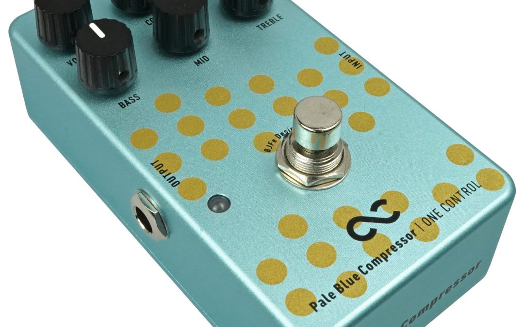 One Control Pale Blue Compressor – EQ / Compressor