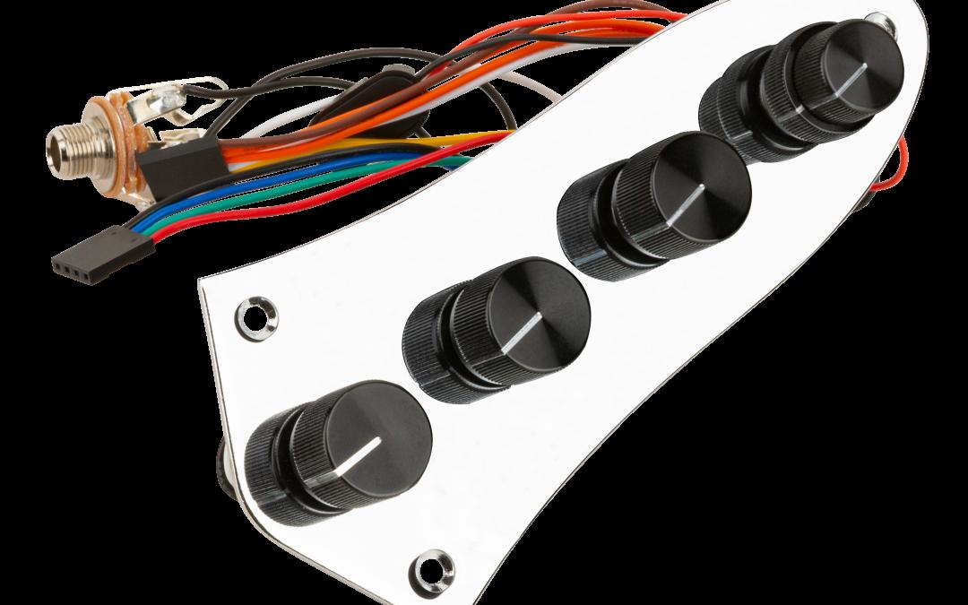 Vintage Tone Control (VTC) Retrofit Kit & Onboard Bass Preamp (4-Knob System)