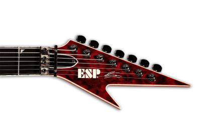 OBSCURA – Steffen Kummerer führt seine ESP Custom Gitarre vor